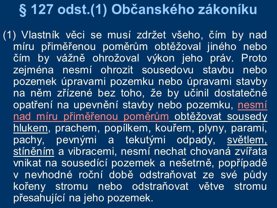 § 127 odst.(1) Občanského zákoníku