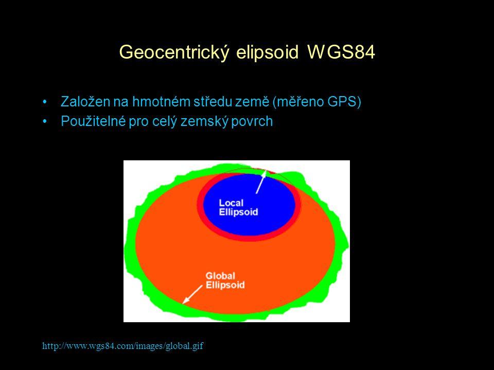 Geocentrický elipsoid WGS84