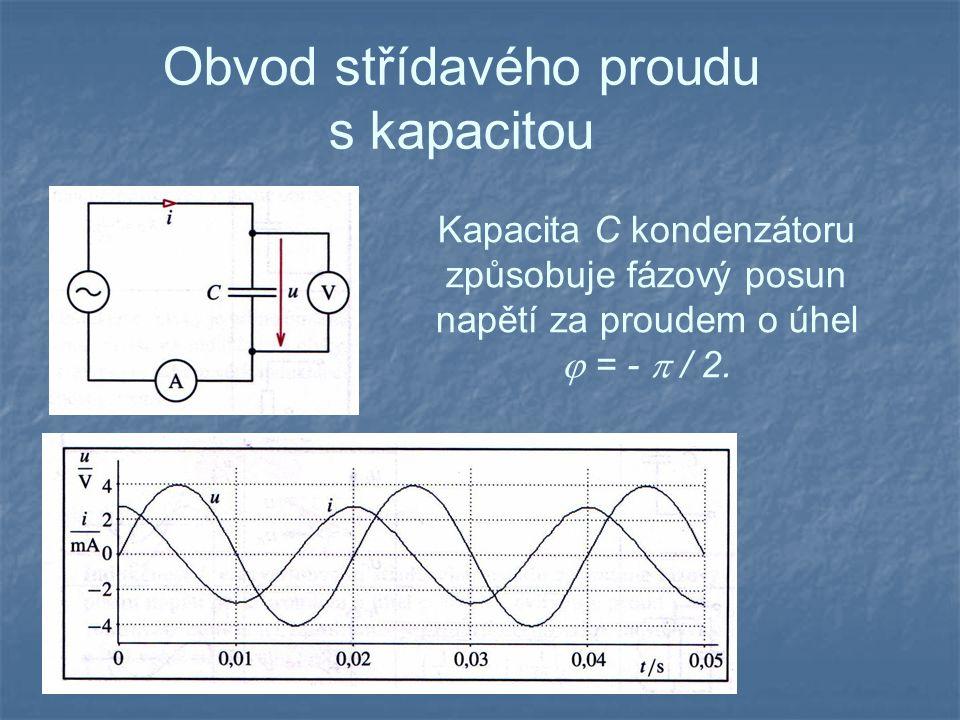 Obvod střídavého proudu s kapacitou