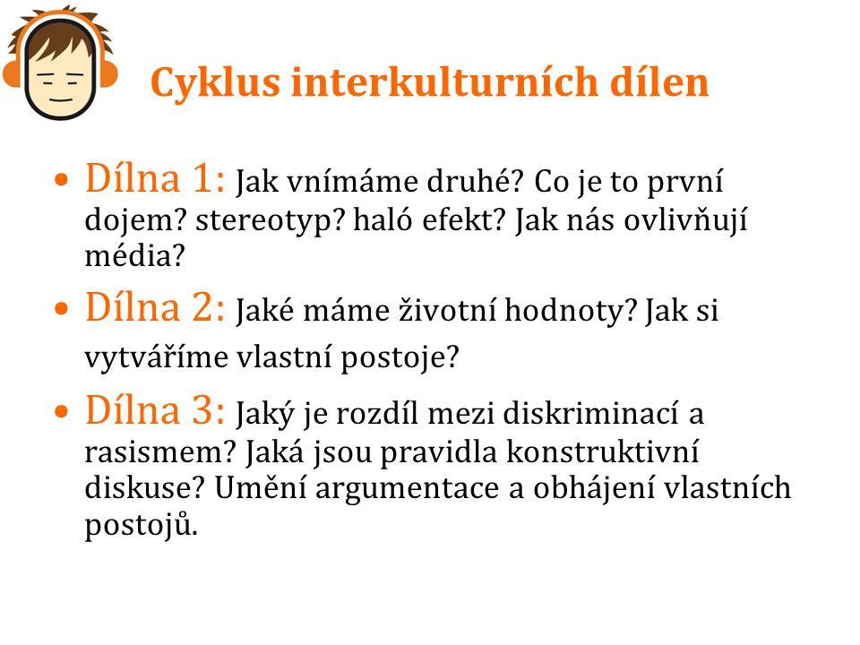 Cyklus interkulturních dílen