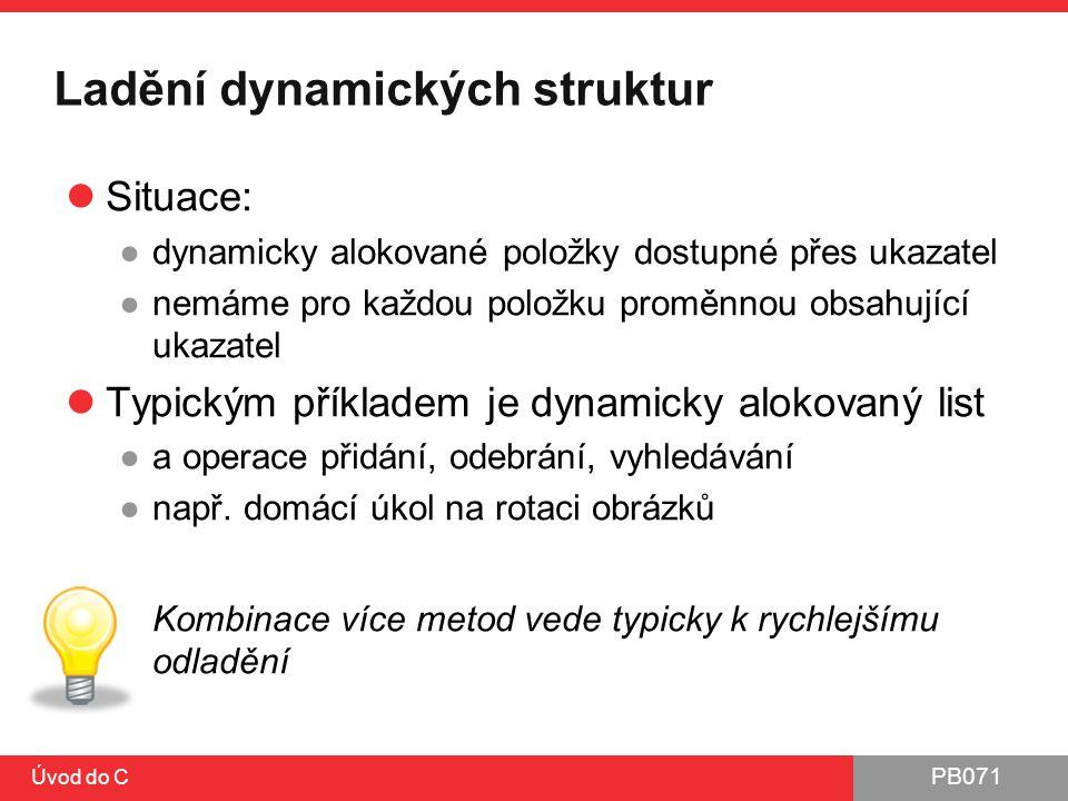 Ladění dynamických struktur