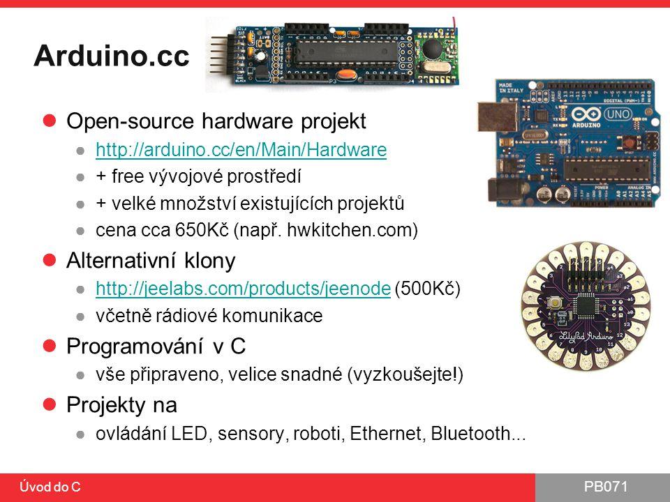 Arduino.cc Open-source hardware projekt Alternativní klony