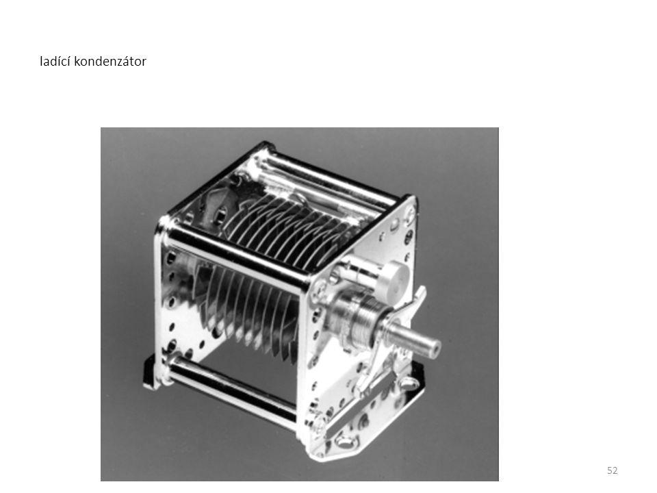 ladící kondenzátor