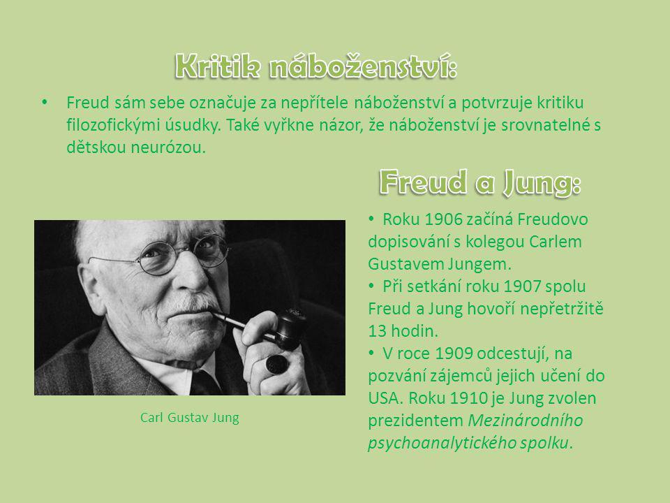 Kritik náboženství: Freud a Jung:
