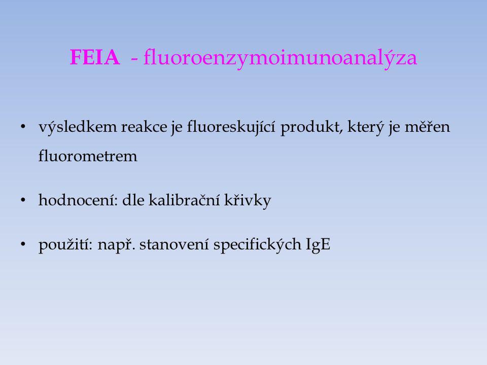FEIA - fluoroenzymoimunoanalýza