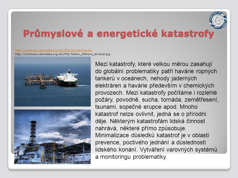 Průmyslové a energetické katastrofy