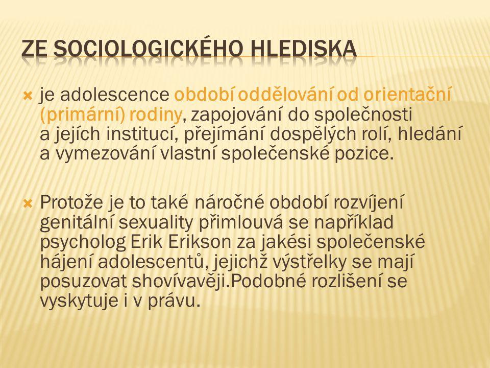 Ze sociologického hlediska