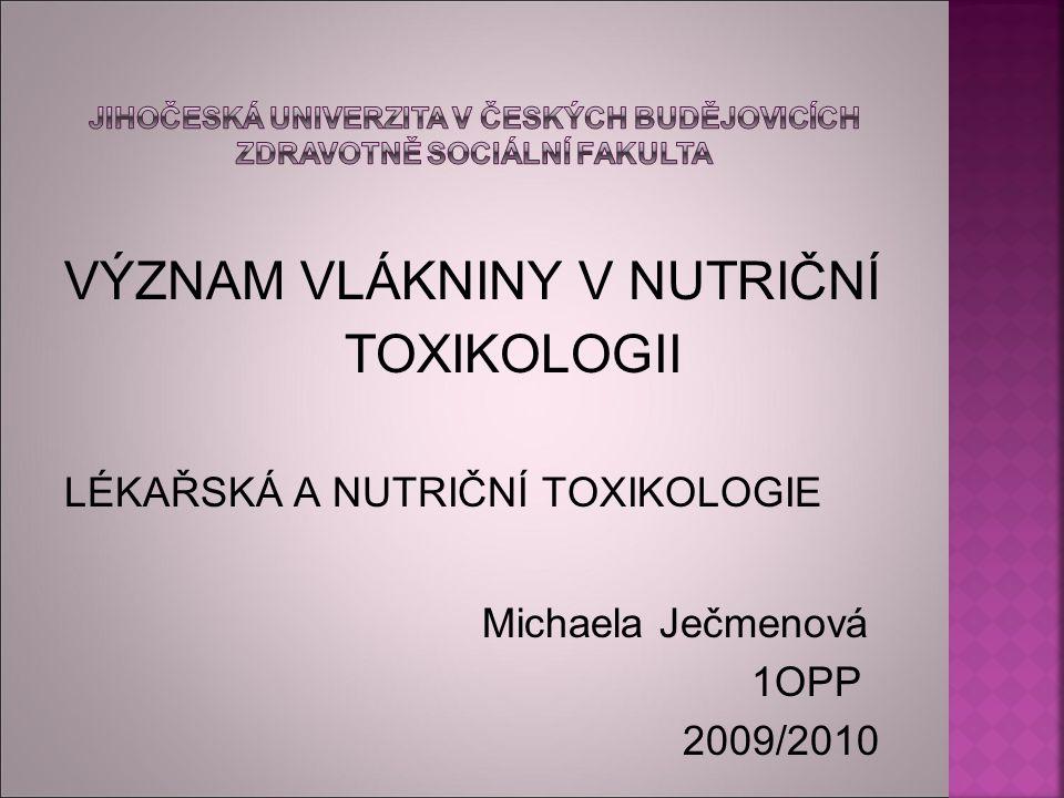 Jihočeská univerzita v Českých Budějovicích Zdravotně sociální fakulta