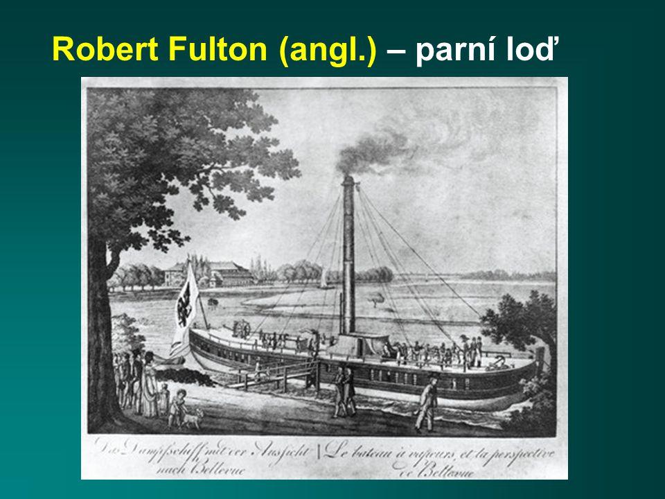 Robert Fulton (angl.) – parní loď