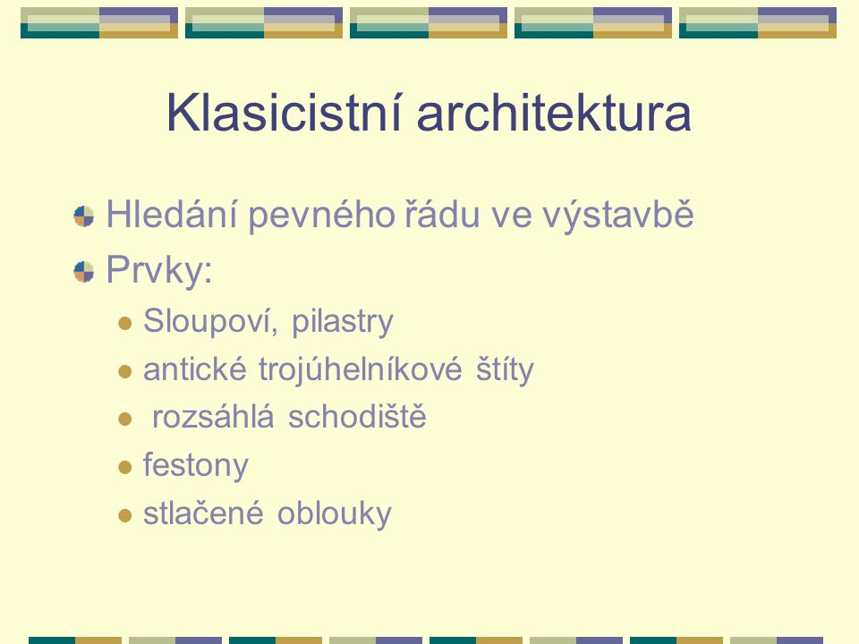 Klasicistní architektura