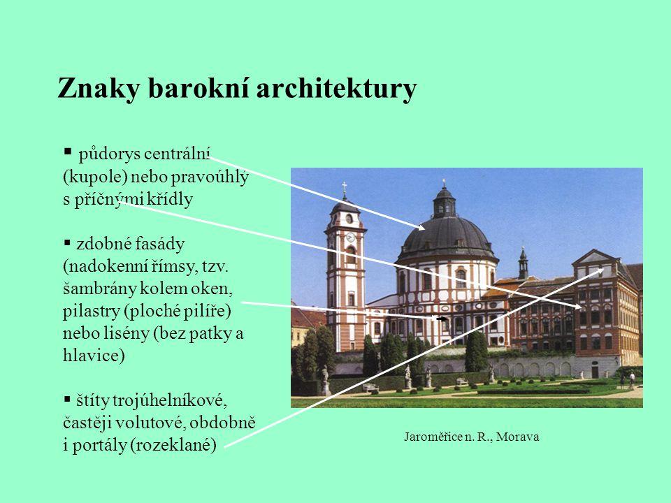 Znaky barokní architektury