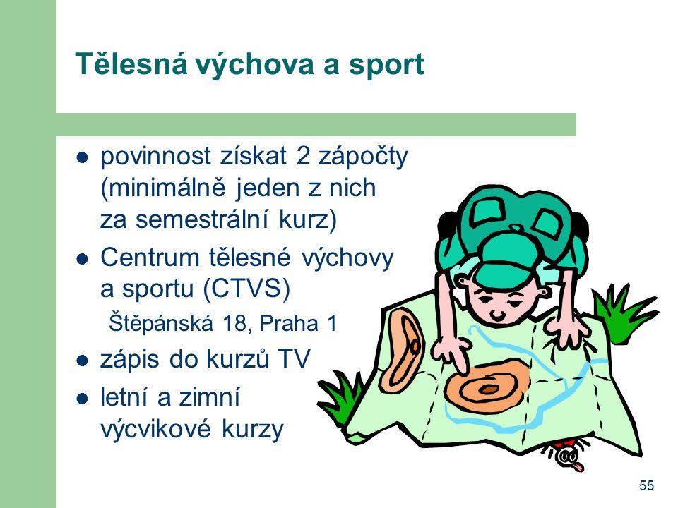 Tělesná výchova a sport