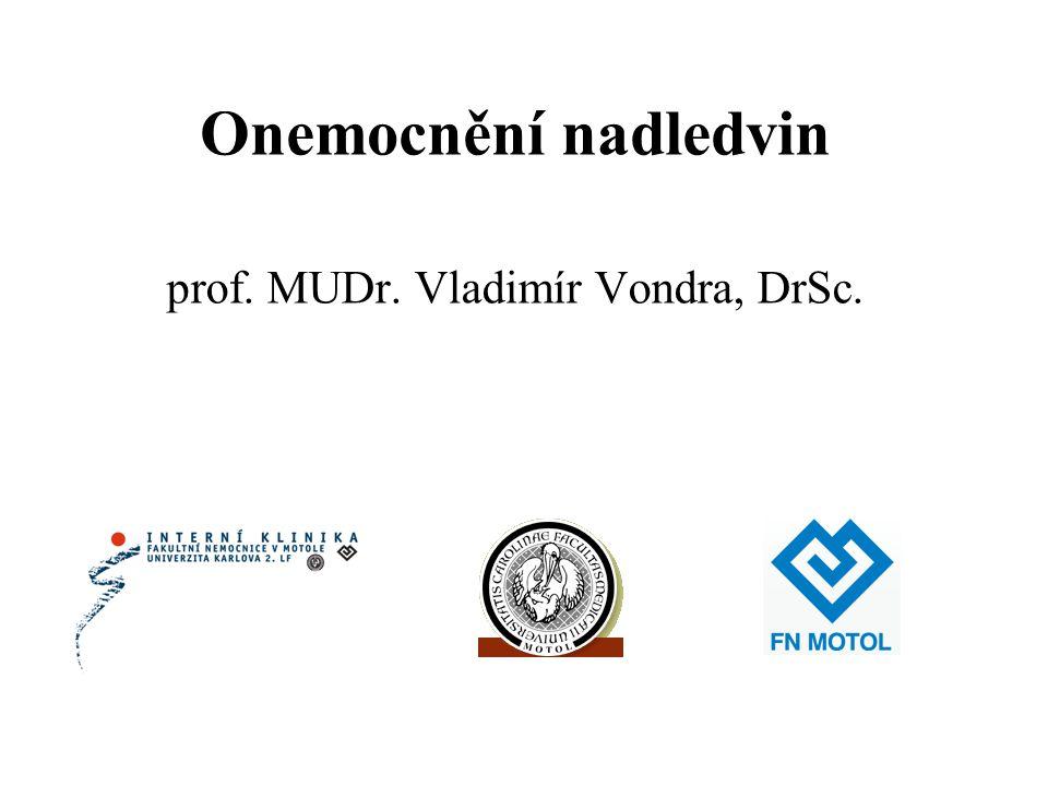 prof. MUDr. Vladimír Vondra, DrSc.