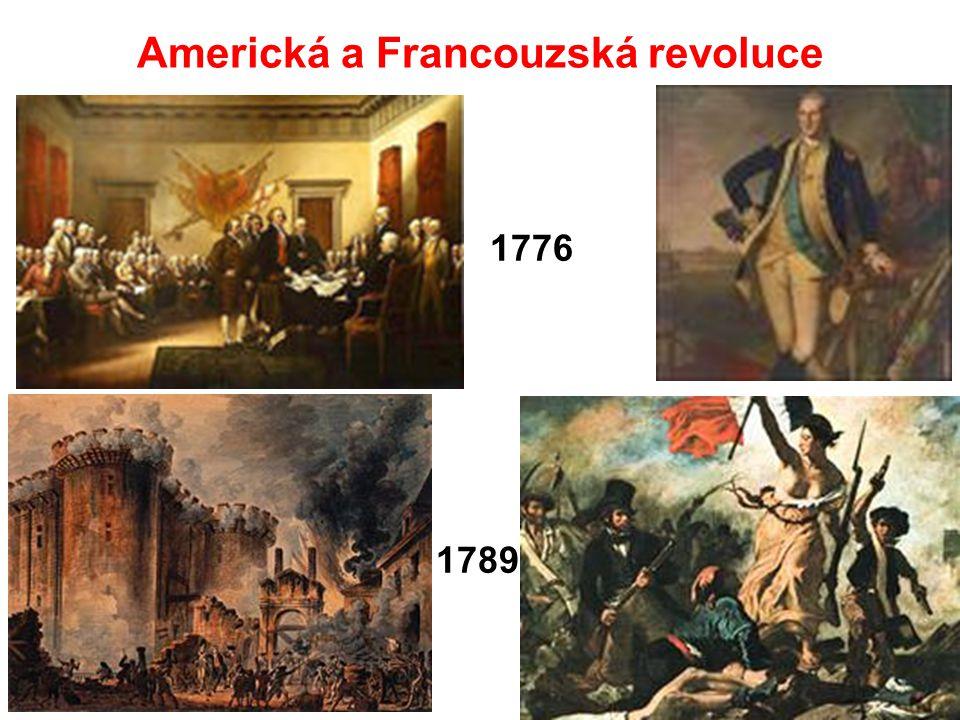 Americká a Francouzská revoluce