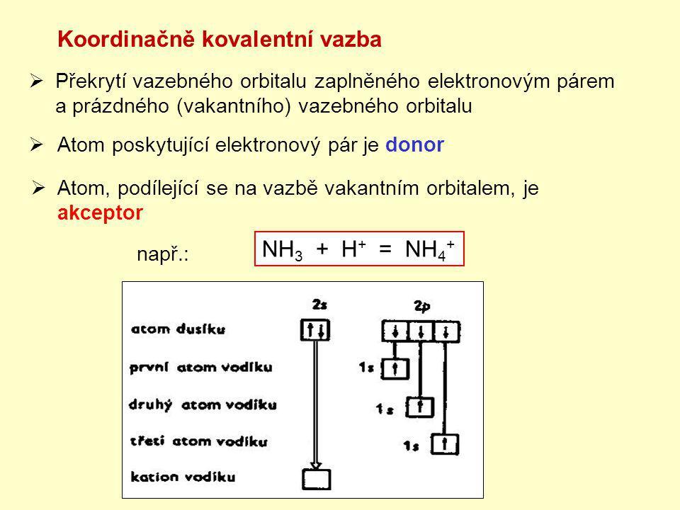 Koordinačně kovalentní vazba
