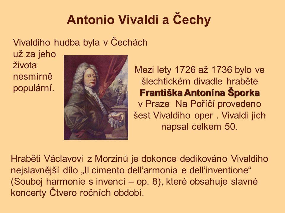 Antonio Vivaldi a Čechy