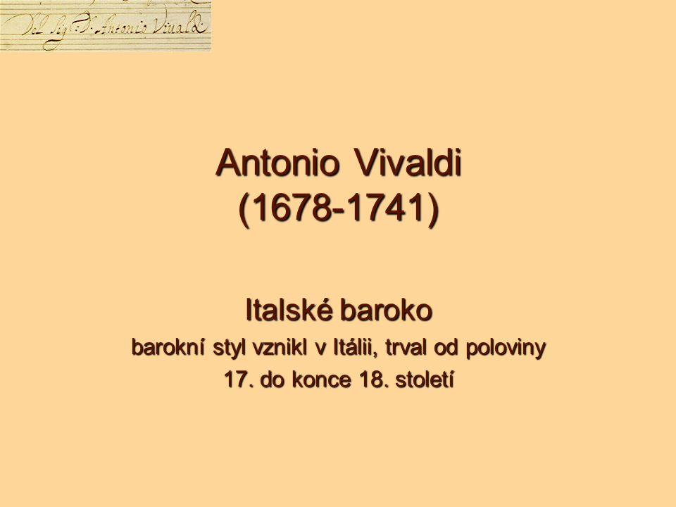 barokní styl vznikl v Itálii, trval od poloviny