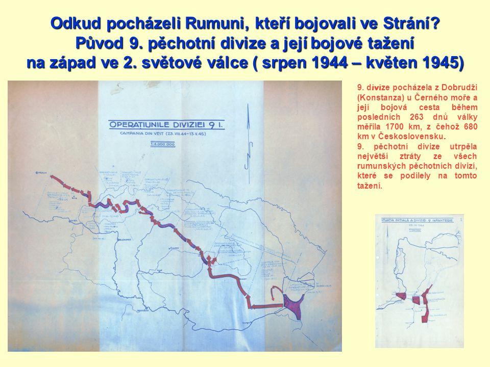 Odkud pocházeli Rumuni, kteří bojovali ve Strání