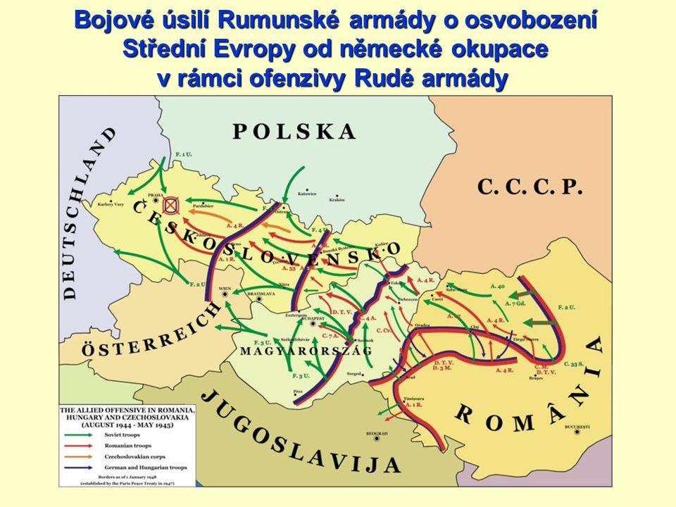 Bojové úsilí Rumunské armády o osvobození