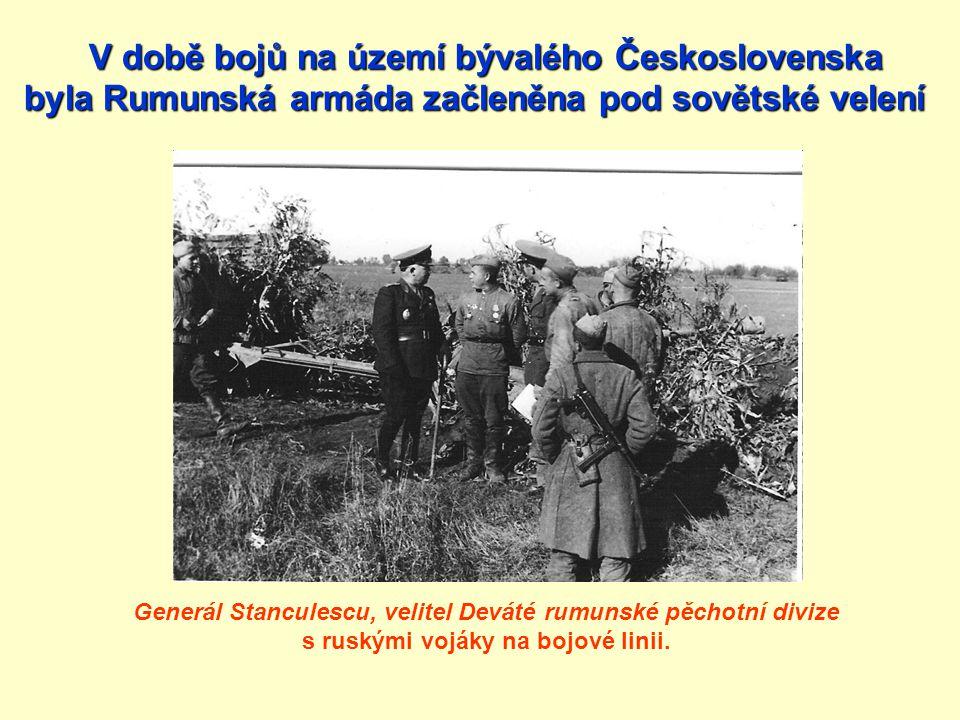 V době bojů na území bývalého Československa