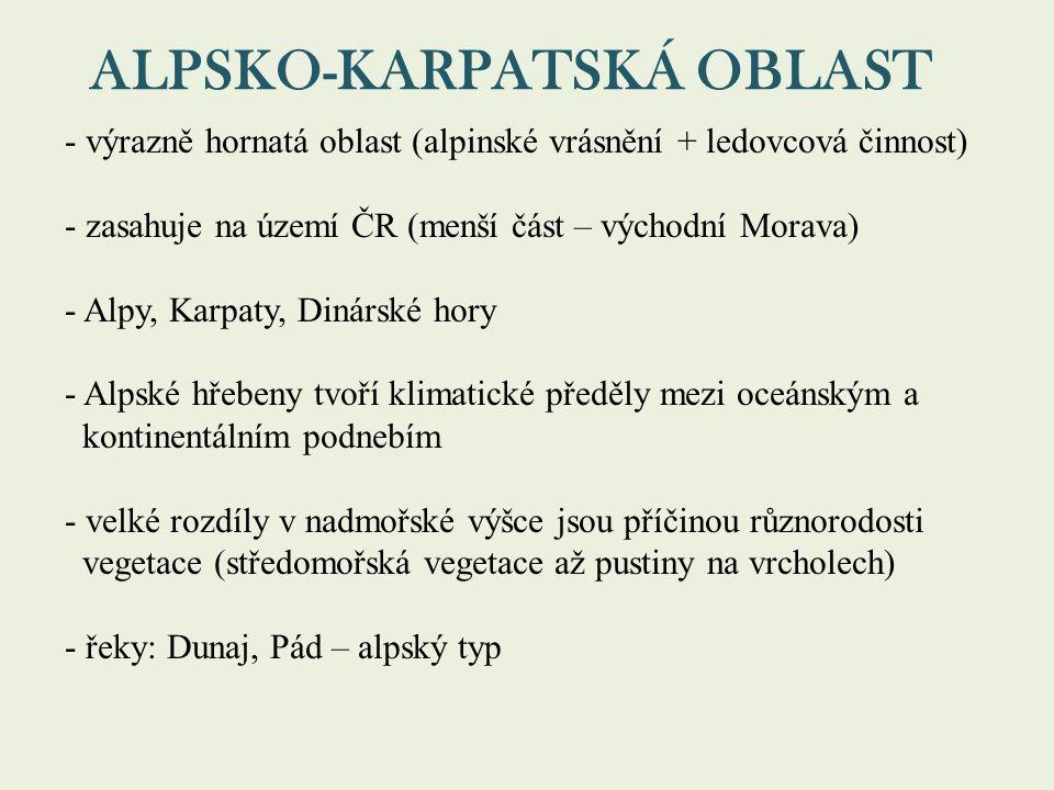 ALPSKO-KARPATSKÁ OBLAST