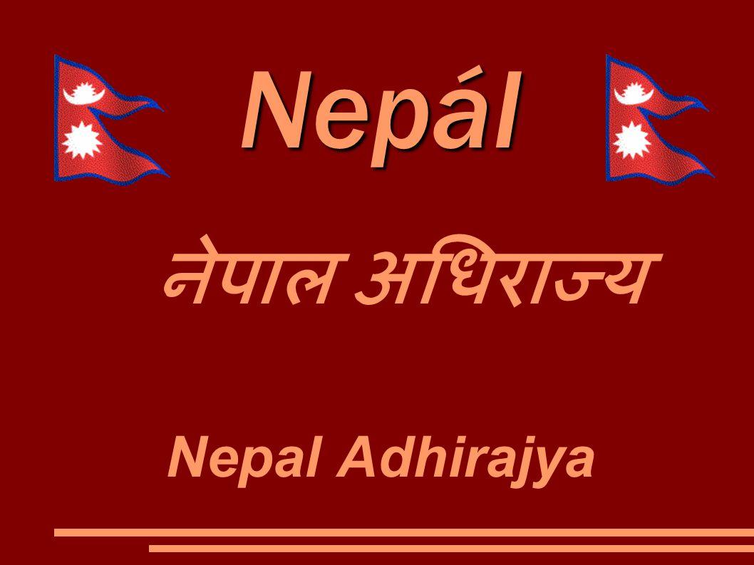 Nepál नेपाल अधिराज्य Nepal Adhirajya