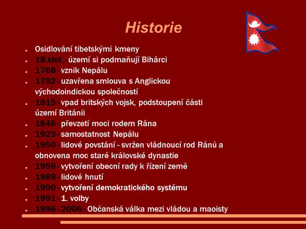 Historie Osidlování tibetskými kmeny