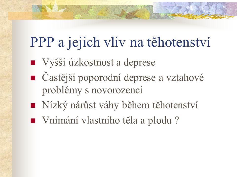 PPP a jejich vliv na těhotenství