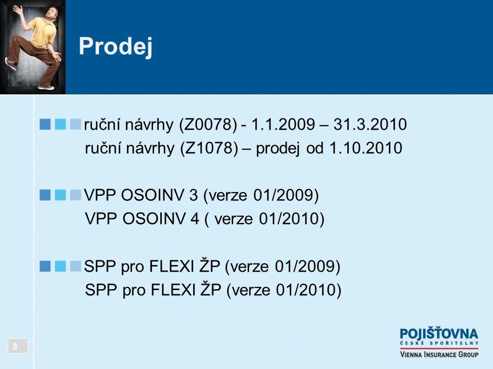 Prodej ruční návrhy (Z0078) - 1.1.2009 – 31.3.2010