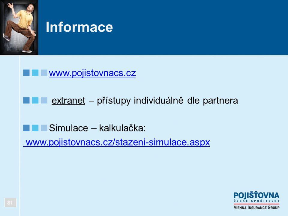 Informace www.pojistovnacs.cz