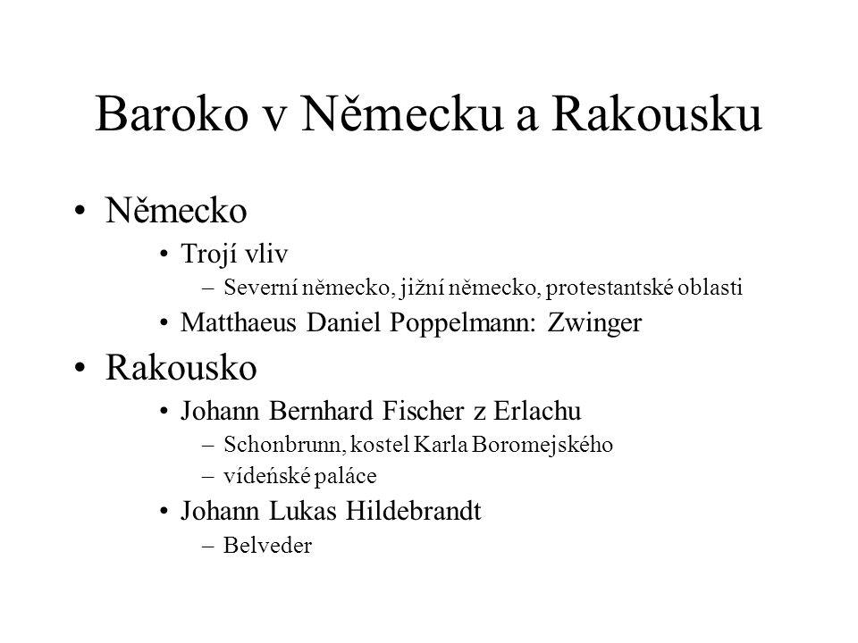 Baroko v Německu a Rakousku