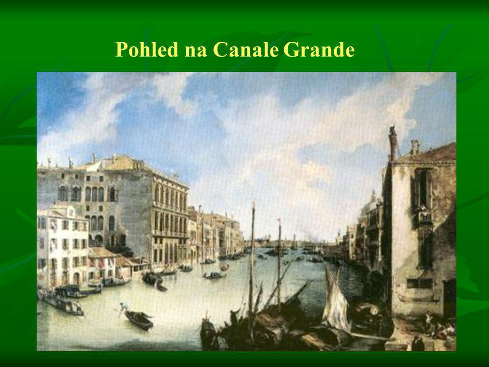 Pohled na Canale Grande