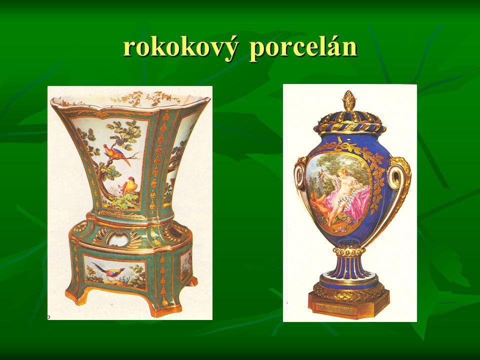 rokokový porcelán