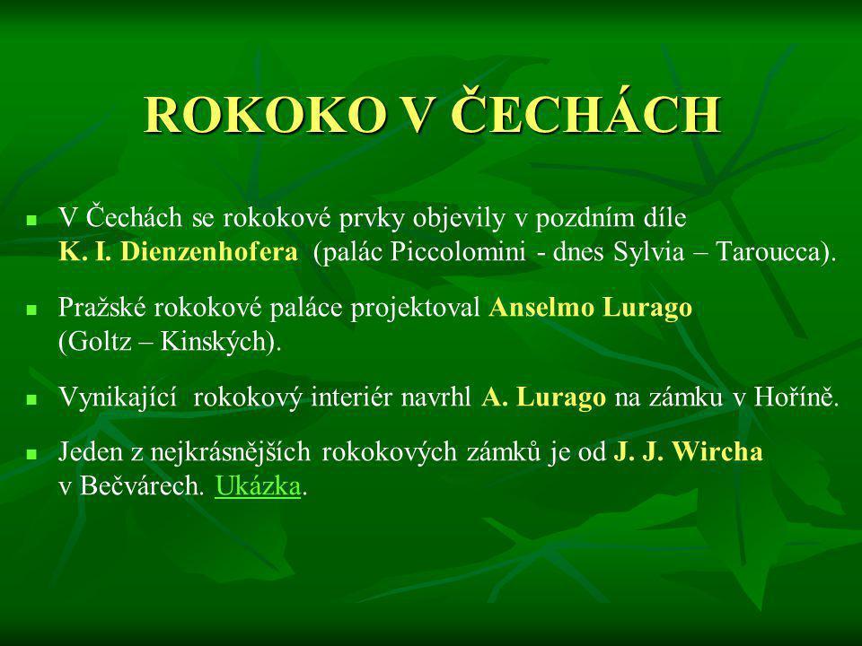 ROKOKO V ČECHÁCH