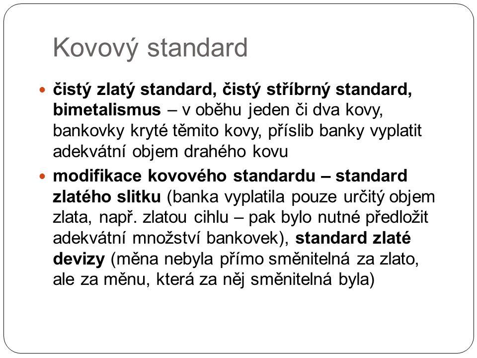 Kovový standard