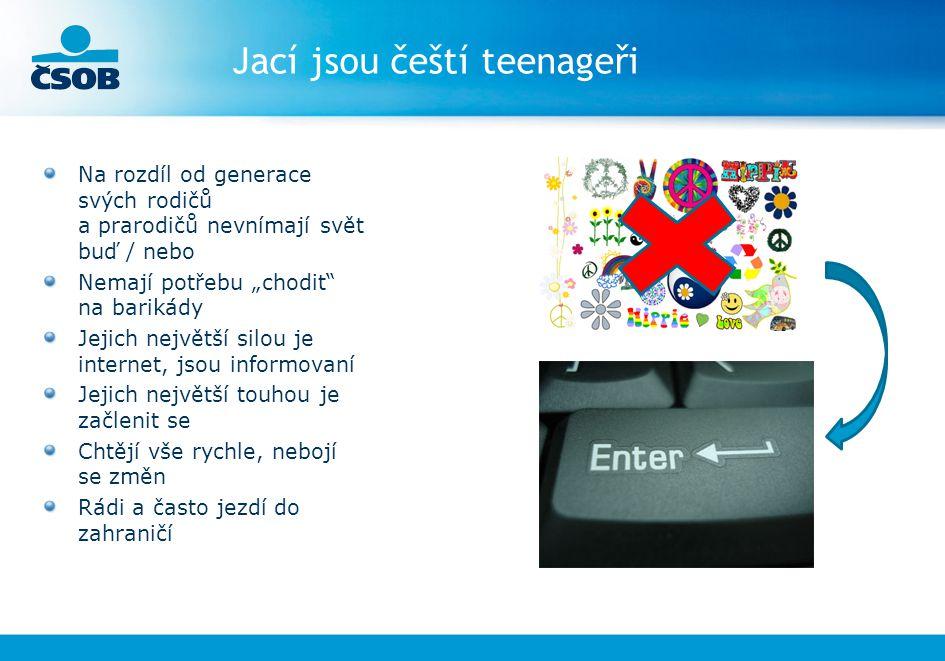 Jací jsou čeští teenageři