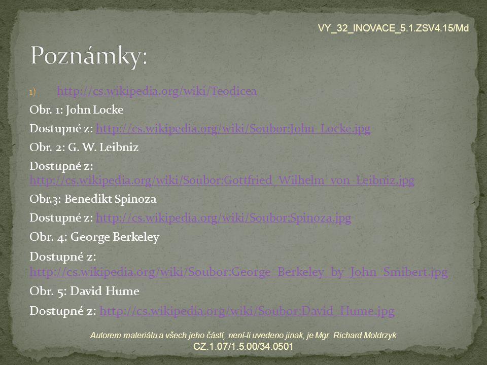 Poznámky: Obr. 4: George Berkeley