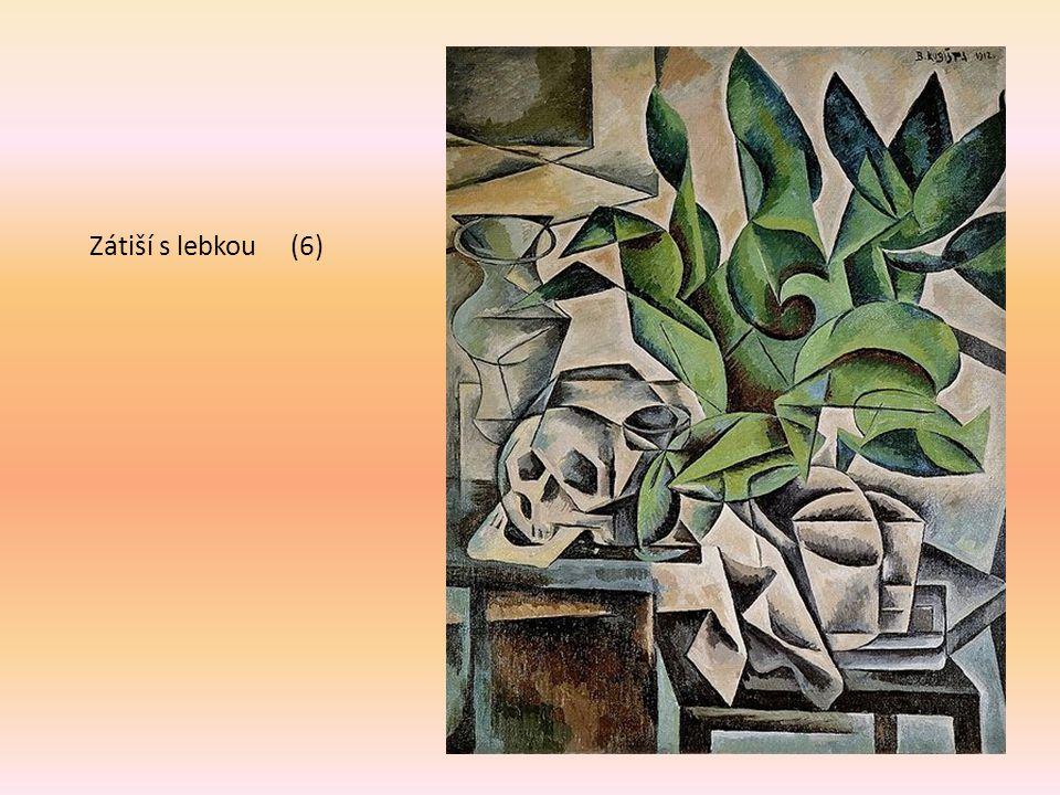 Zátiší s lebkou (6) B. Kubišta 1912