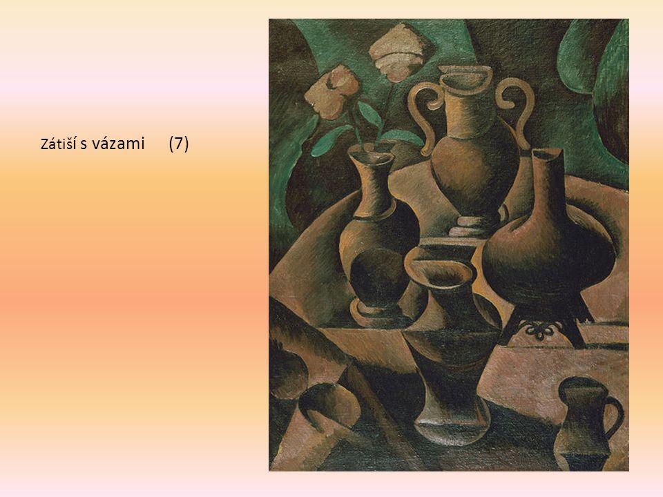 Zátiší s vázami (7) 1911