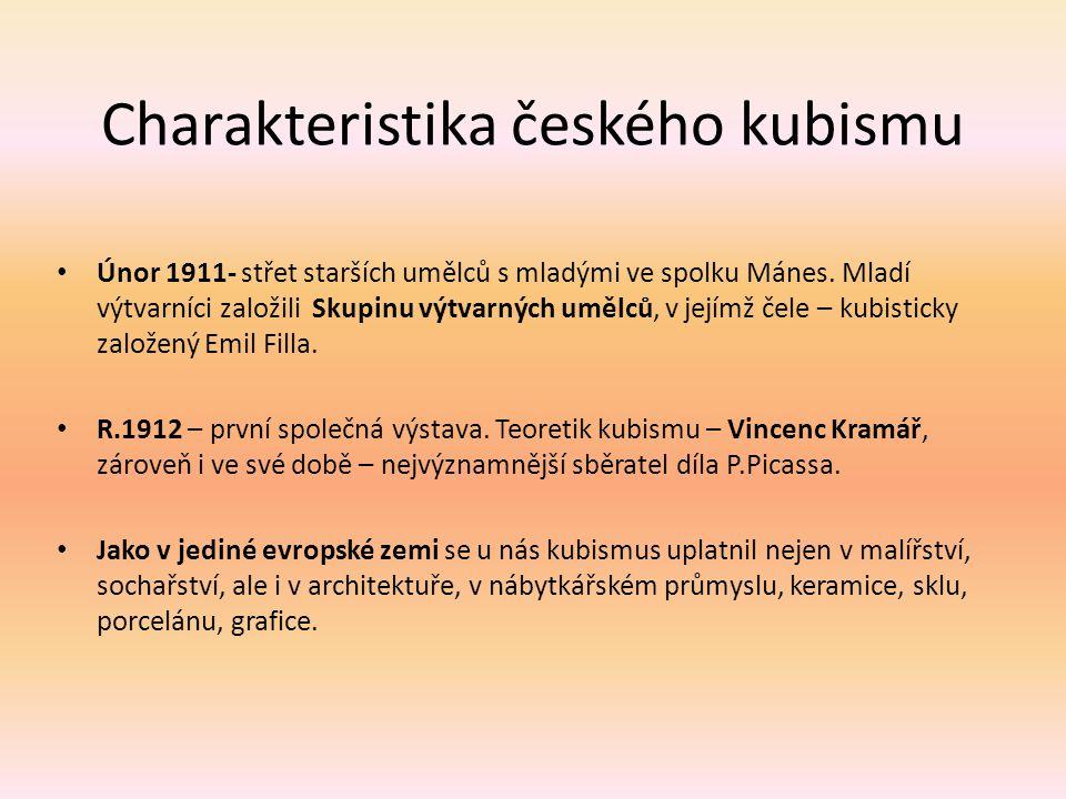 Charakteristika českého kubismu