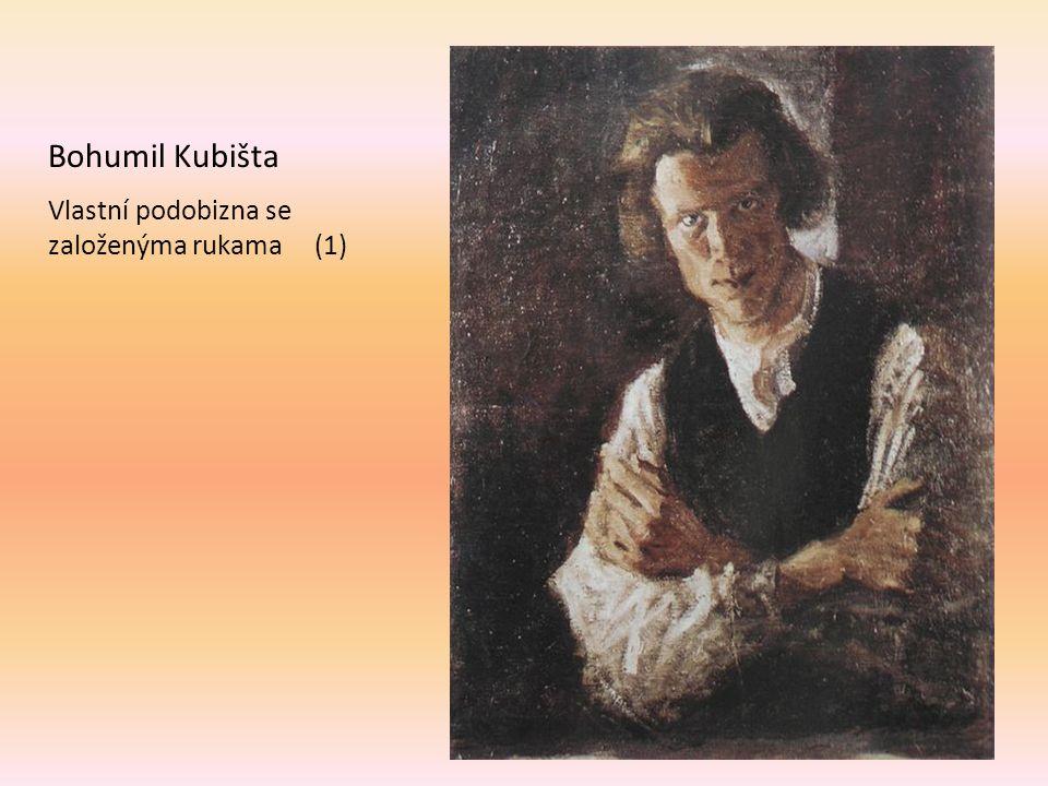Bohumil Kubišta Vlastní podobizna se založenýma rukama (1)