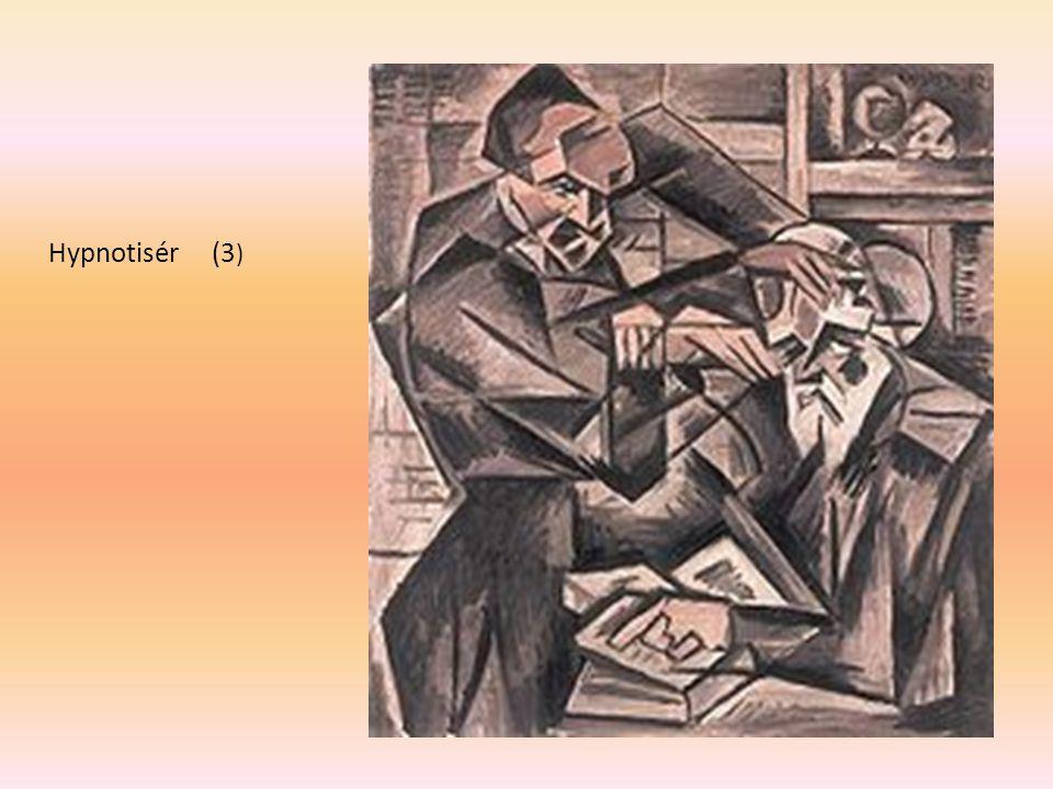 Hypnotisér (3) B. Kubišta 1912