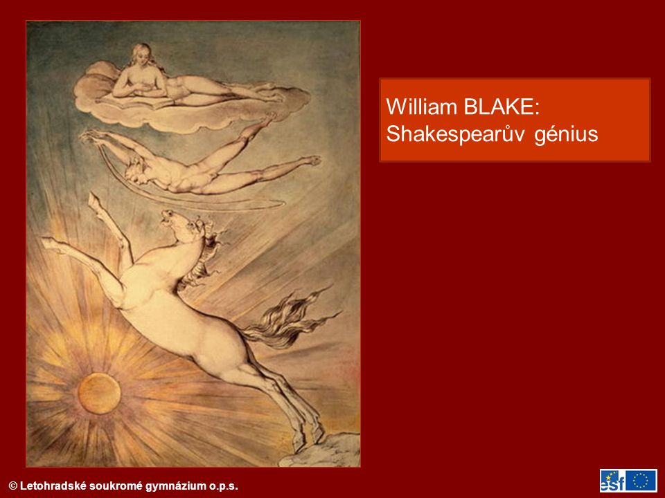William BLAKE: Shakespearův génius