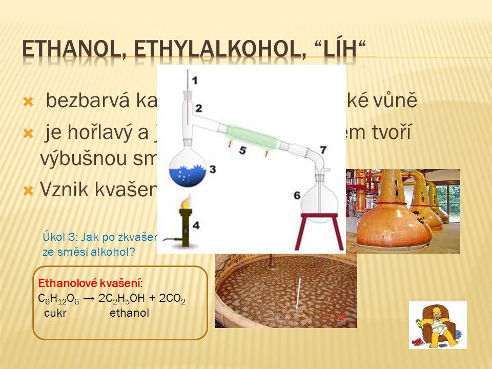Ethanol, ethylalkohol, líh