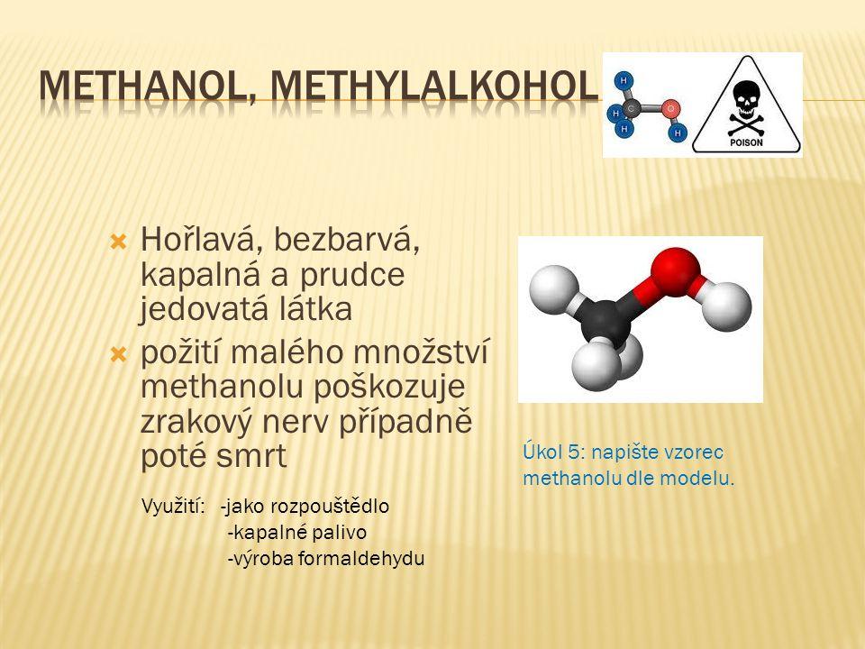 Methanol, methylalkohol