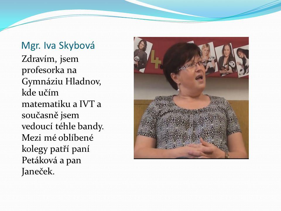 Mgr. Iva Skybová