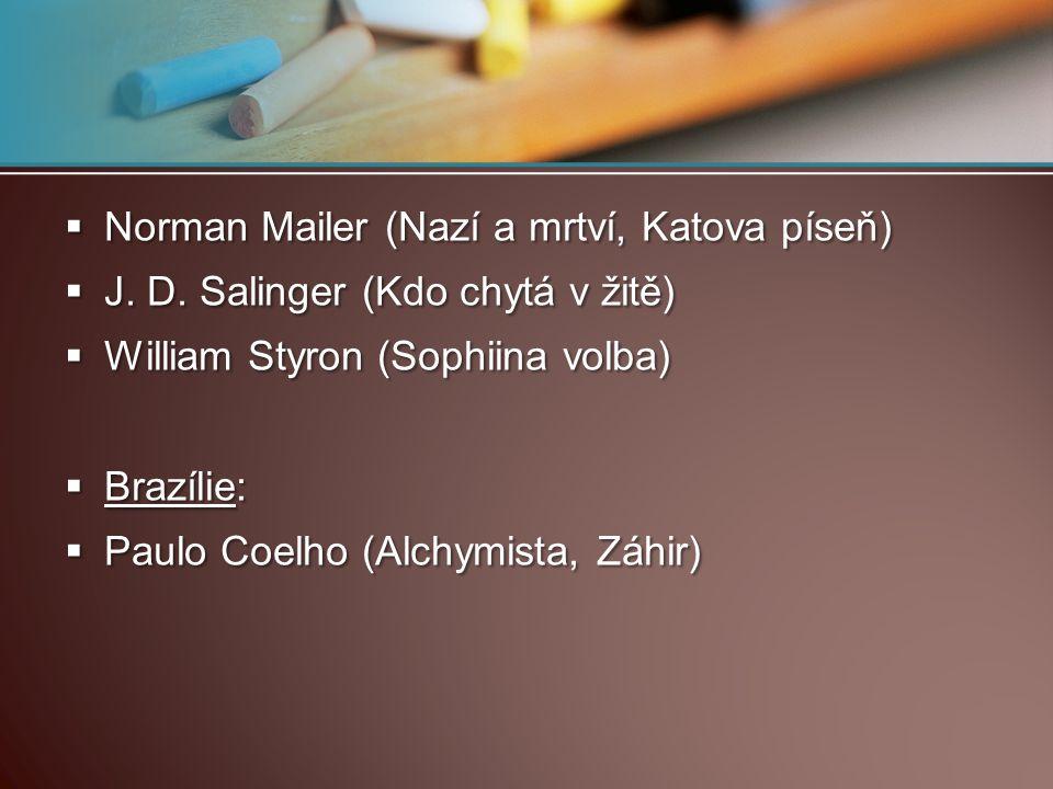 Norman Mailer (Nazí a mrtví, Katova píseň)