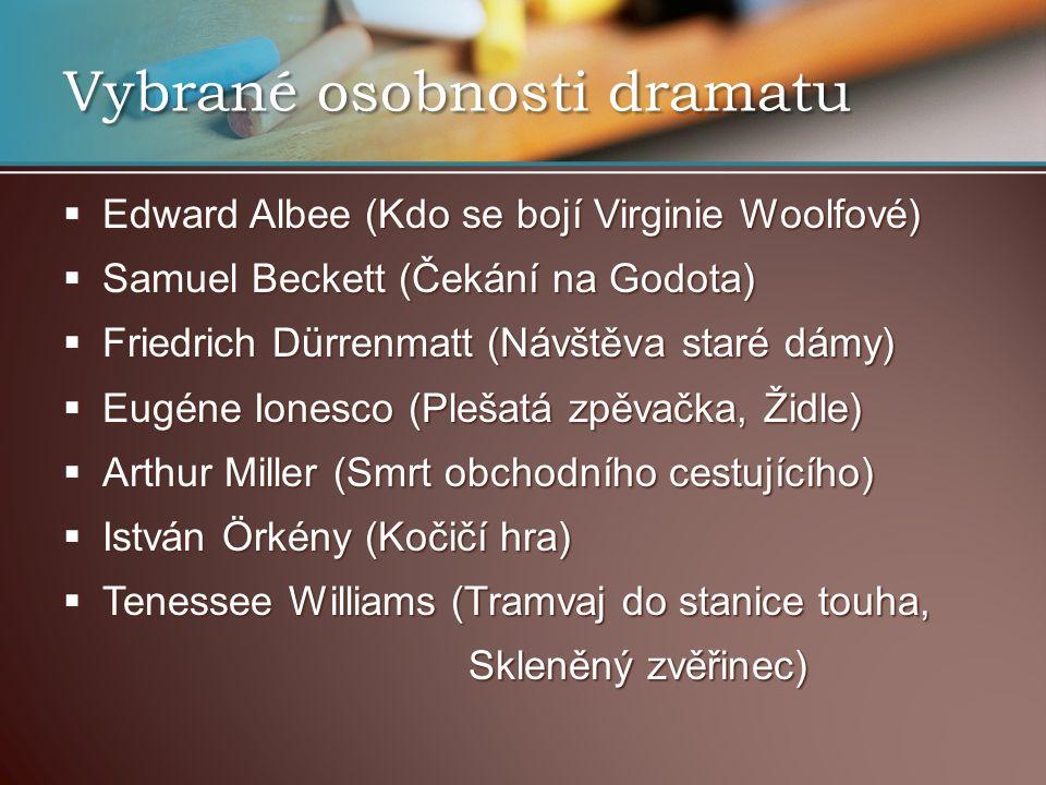 Vybrané osobnosti dramatu