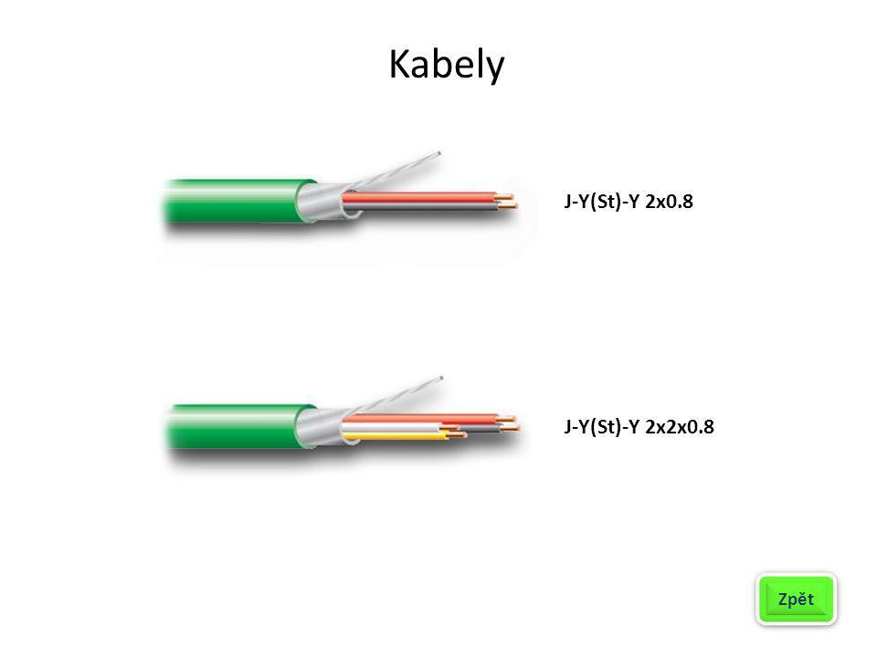 Kabely J-Y(St)-Y 2x0.8 J-Y(St)-Y 2x2x0.8 Zpět