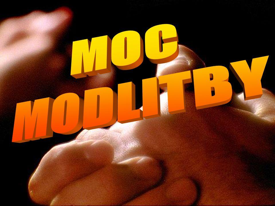 MOC MODLITBY